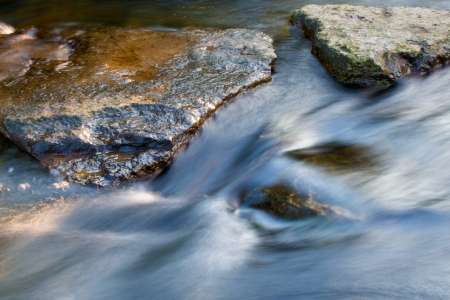 The stones in the stream of creek Banque d'images