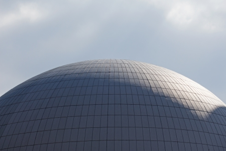 npp: The dome of a nuclear reactor of nuclear power plant