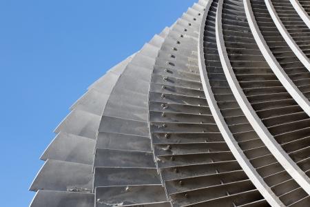 turbina de vapor: Un detalle t de una turbina de vapor Foto de archivo