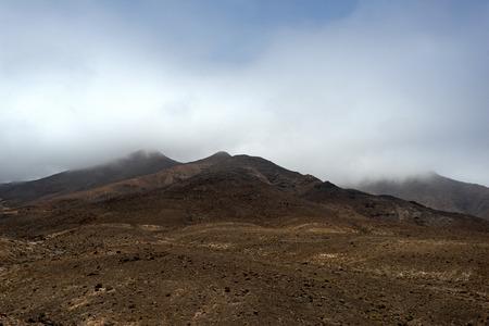 fuerteventura: Mountains of  Fuerteventura in the area Jandia