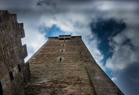 Tower of Schaumburg Castle in Germany, Lower Saxony Editorial