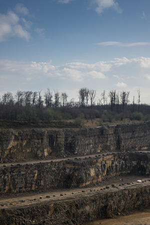 pit fall: The landscape in a quarry career
