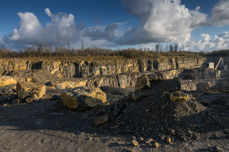 macadam: The landscape in a quarry career