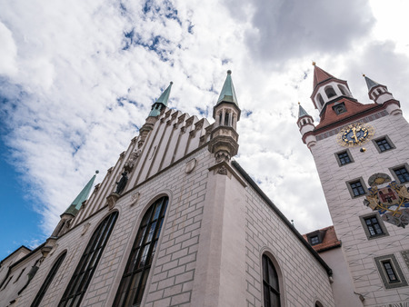The Old Town Hall,  in city Munich, Germany  .