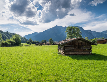 The landscape of mountain in Tyrol, Austria . Banque d'images