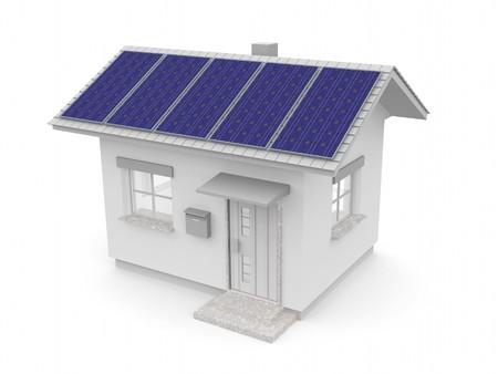 subsidy: solar Supplies Stock Photo