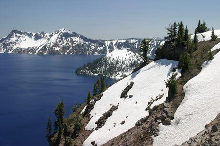 Crater Lake Фото со стока - 395208