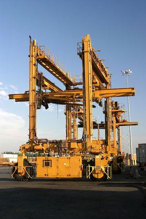 Container Crane Stok Fotoğraf