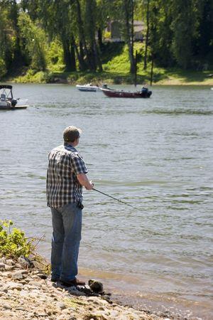 Any Day fishing... Banco de Imagens