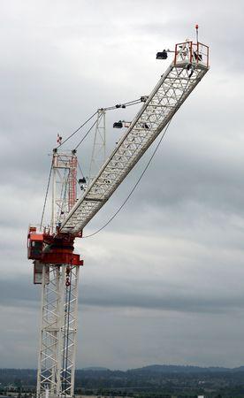 construction crane at a construction site