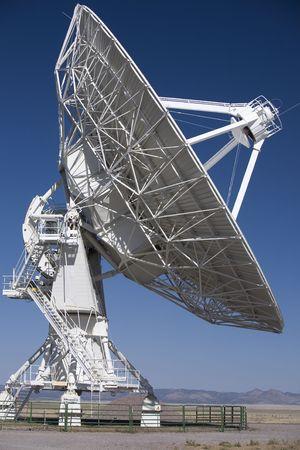 array: Very Large Array radio telescope antenna Stock Photo