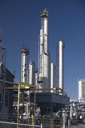 Natural gas compressor station photo