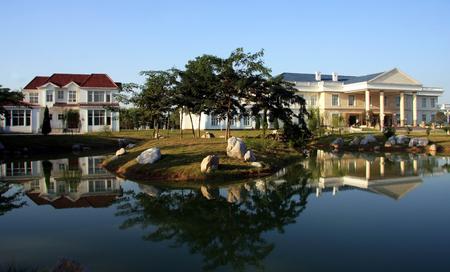 beck: Villa landscape
