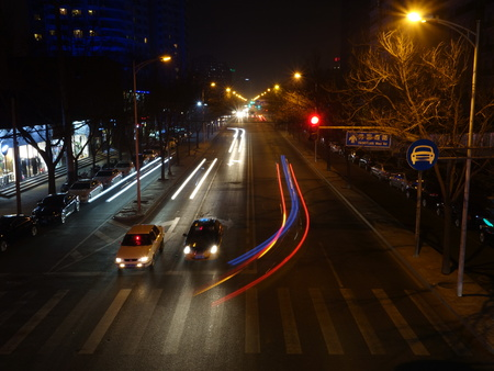 nite: nite roadway view