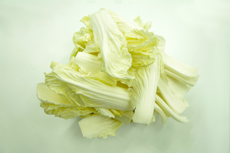 Baby Chinese Cabbage Stock Photo