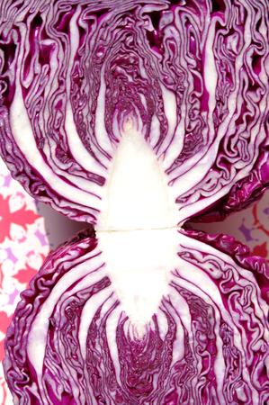 chafing dish: Purple cabbage