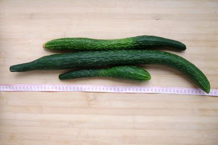 expectorant: cucumber Stock Photo