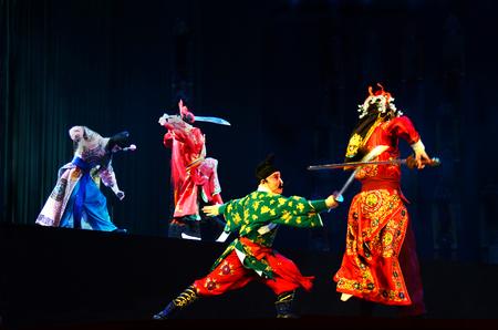 actividades recreativas: funcionamiento de la ópera de Pekín