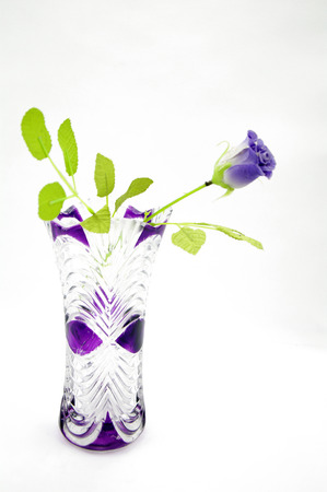Vases And Plastic Flowers Stock Photo Picture And Royalty Free