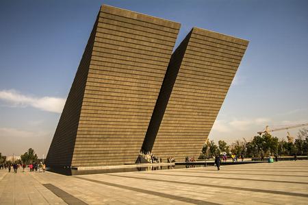 etiquette voyage: L'Anhui Campaign Memorial Hall Éditoriale