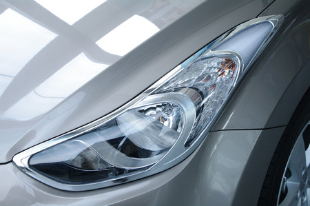 Car lamp features Stock Photo