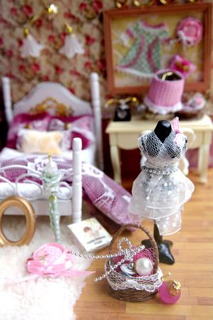 Miniature indoor furnishings