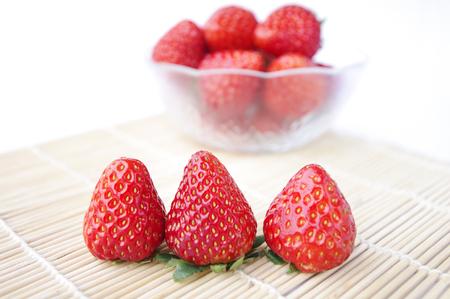 oneself: strawberry Stock Photo