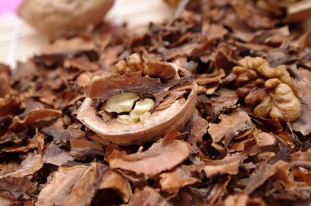Walnut heartwood