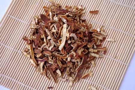 tangerine peel: dried tangerine peel