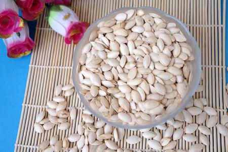 dried gourd: Pumpkin seeds