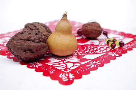 walnut decoration