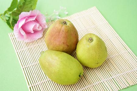 indication: Korla pear Stock Photo