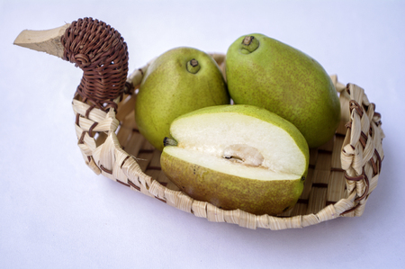 phlegm: pear Stock Photo
