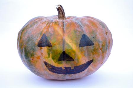 chafing dish: Pumpkin decoration for halloween Stock Photo
