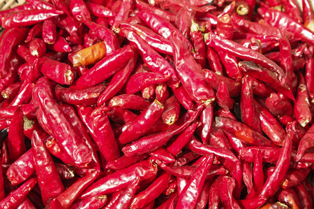 chafing dish: red pepper