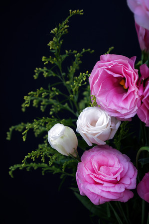 Bouquet of Platycodon grandiflorum