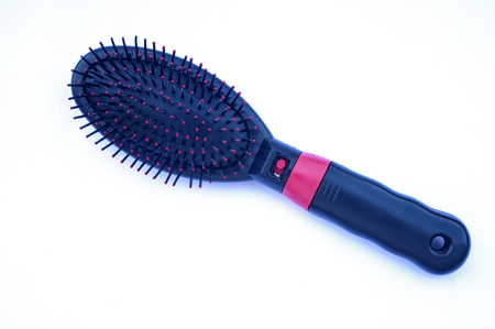 Electric massage comb