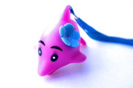 pink dolphin: Dolphin toys Stock Photo