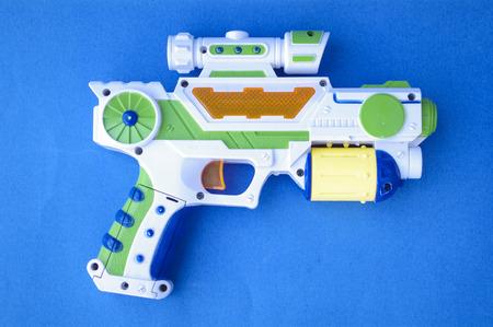 Submachine gun for children toy gun Stock Photo
