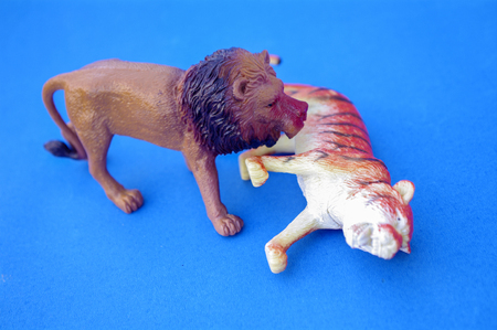 Solid imitation animal toy for children
