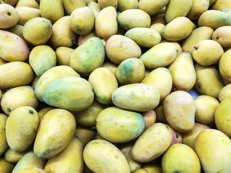 bulk: mango in bulk Stock Photo