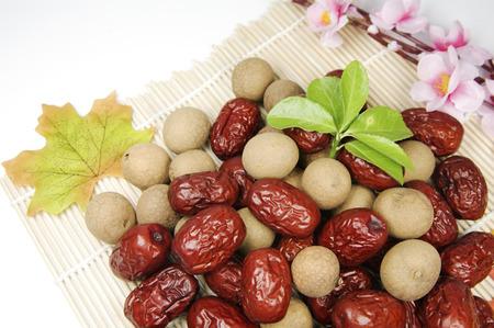 Cinnamon and jujube Stock Photo - 90688504