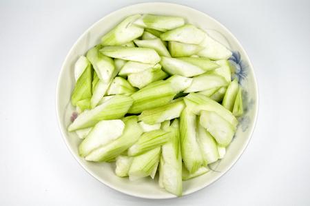 A dish of luffa
