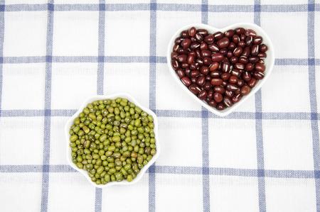 Red bean and mung bean