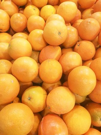 Gannan navel orange Stock Photo