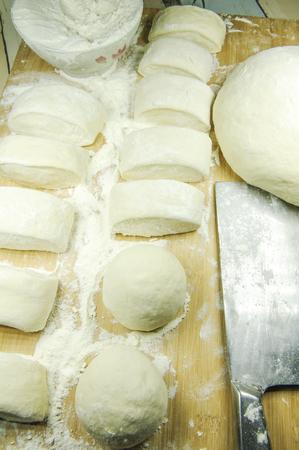 Steamed bun Imagens