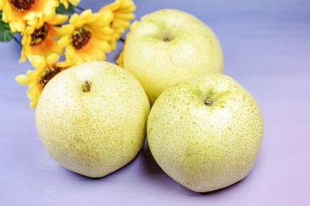 Dangshan pear 스톡 콘텐츠