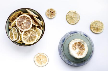 Dried lemon Stock Photo
