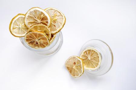 Dried lemon 스톡 콘텐츠