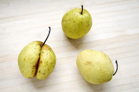Dangshan pear Stock Photo